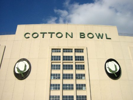 Although this building won't host the annual Cotton Bowl any longer, many fans want the bowl to select a Big Ten team, according to an online poll.